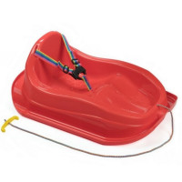 Inlea4Fun ergonomikus szánkó MAJA - Piros