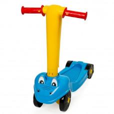 Inlea4Fun Krokko Junior négykerekű roller - kék Előnézet