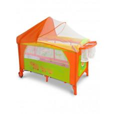 Milly Mally Mirage Deluxe utazóágy - narancssárga Előnézet
