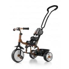 Milly Mally Boby 2015 tricikli tolókarral - barna Előnézet