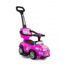 Milly Mally Happy 2az1-ben gyermekjármű - pink Előnézet