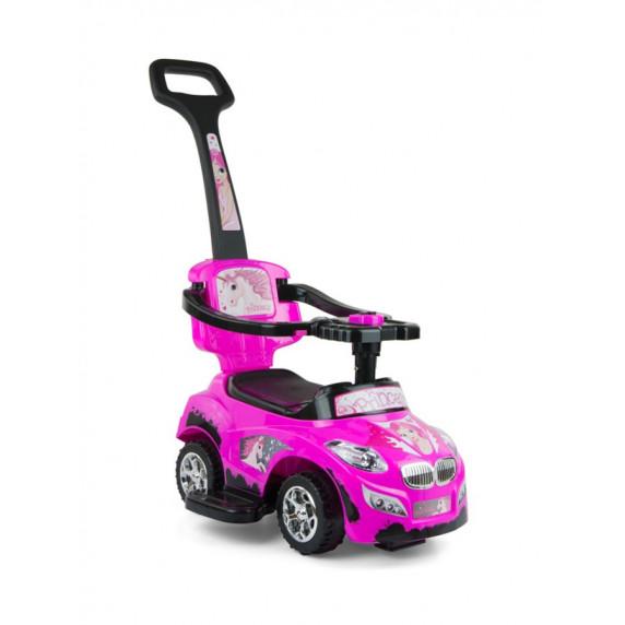 Gyermekjármű 2az1-ben Milly Mally Happy - rózsaszín