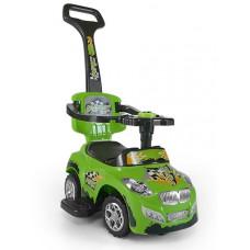 Milly Mally Happy 2az1-ben gyermekjármű - zöld Előnézet