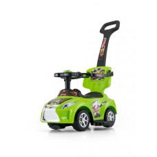 Milly Mally Kid 2az1-ben gyermekjármű - zöld Előnézet