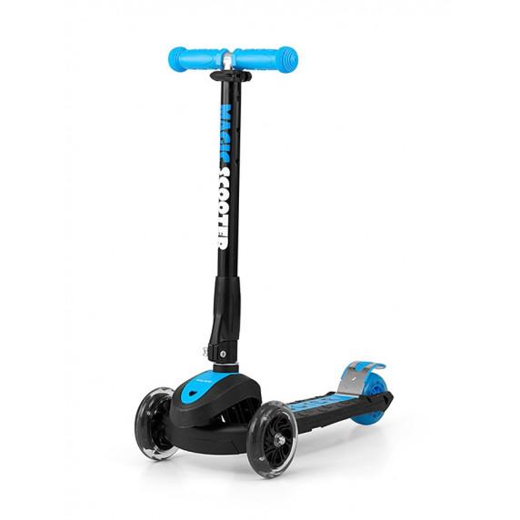 Roller háromkerekű Milly Mally Magic Scooter - kék