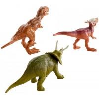 Mattel Jurassic World - Mini Dinó csomag 3 db-os: Triceratopsszal