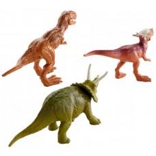Mattel Jurassic World - Mini Dinó csomag 3 db-os: Triceratopsszal Előnézet