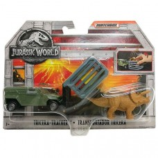 Matchbox Jurassic World - TRICERA TRACKER  Előnézet