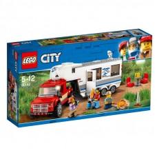LEGO City - Furgon és lakókocsi 60182 Előnézet