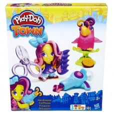 Play-Doh: Town - Fodrászat gyurmakészlet Előnézet