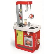 Smoby Bon Appetit Red & Green játékkonyha elektronikus kávéfőzővel + 23 kiegészítővel Előnézet