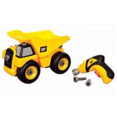 CAT Csavarozható teherautó 39 cm Előnézet