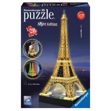 Ravensburger 12579 - Night Edition - Eiffel-torony - 216 db-os 3D puzzle Előnézet