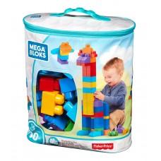 Mega Bloks - építőkocka készlet táskában - kék Előnézet