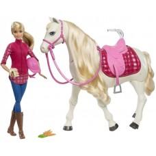 Mattel Barbie - Dreamhorse: Barbie inteligens fehér lóval Előnézet