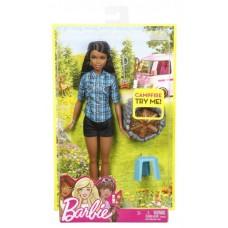 Mattel Barbie - Barbie a tábortűz mellett - barna Előnézet
