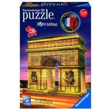 Ravensburger 12522 - Night Edition - Diadalív 3D puzzle Előnézet