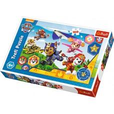 Trefl 15363 - Mancs őrjárat - Mindig segítségre - 160 db-os puzzle Előnézet