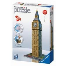 Ravensburger 12554 3D puzzle - Big Ben (216 db-os) Előnézet