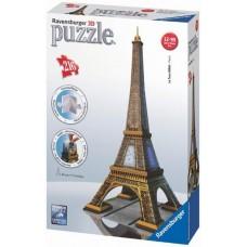 Ravensburger 12556 3D puzzle - Eiffel-torony - Párizs - 216 db-os  Előnézet