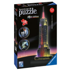 Ravensburger 12566 - Night Edition - Empire State Building 3D puzzle 216 db-os Előnézet