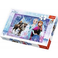 Trefl 15344 - Jégvarázs - Téli kalandok - 160 db-os puzzle