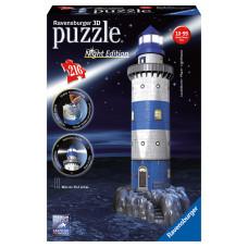 Ravensburger 12577 - Night Edition - Világítótorony 3D puzzle 216 db-os (12577) Előnézet