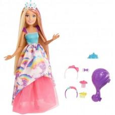 Mattel Barbie - Dreamtopia: Szőke hercegnő baba 30 cm Előnézet