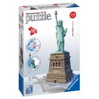 3D puzzle - New York szabadságszobor - 108 db