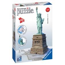 3D puzzle - New York szabadságszobor - 108 db Előnézet