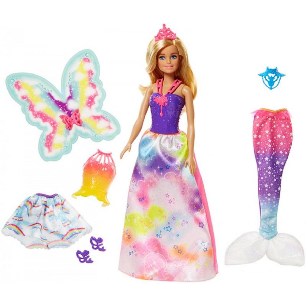 bdb4f186c6ce Mattel Barbie - Dreamtopia: Tündér baba kiegészítőkkel | Játékbabák ...