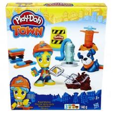 Play-Doh: Town - Útépítés gyurmakészlet  Előnézet