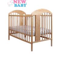 Gyermek kiságy NEW BABY Adam - természetes