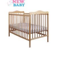 NEW BABY Jacob gyermek kiságy - természetes
