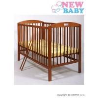 NEW BABY Juliet kiságy - teak