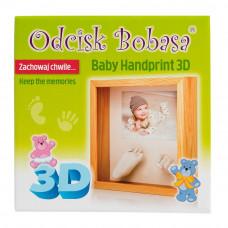 3D szobor kéz és láblenyomat készítő készlet Inlea4fun Előnézet