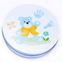Kéz és láblenyomat készítő készlet Inlea4fun - kék