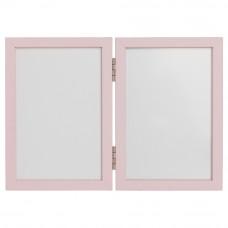 Kéz és láblenyomat készítő készlet Inlea4fun - Kettes keret - Rózsaszín Előnézet