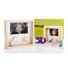 Inlea4fun 3D szobor kéz és láblenyomat készítő készlet Előnézet