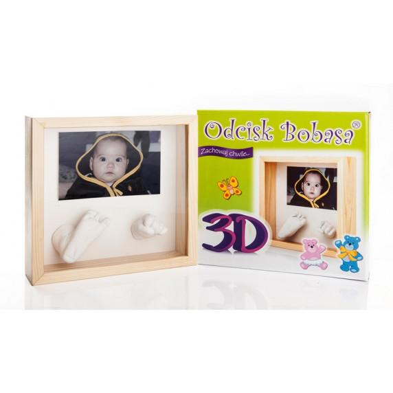 Inlea4fun 3D szobor kéz és láblenyomat készítő készlet