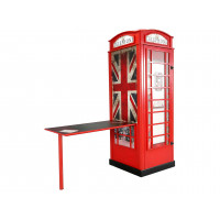 Telefonfülke szekrény íróasztallal