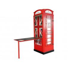 Telefonfülke szekrény íróasztallal  Előnézet