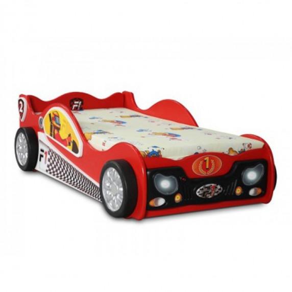 Inlea4Fun gyerekágy Monza Mini - Piros