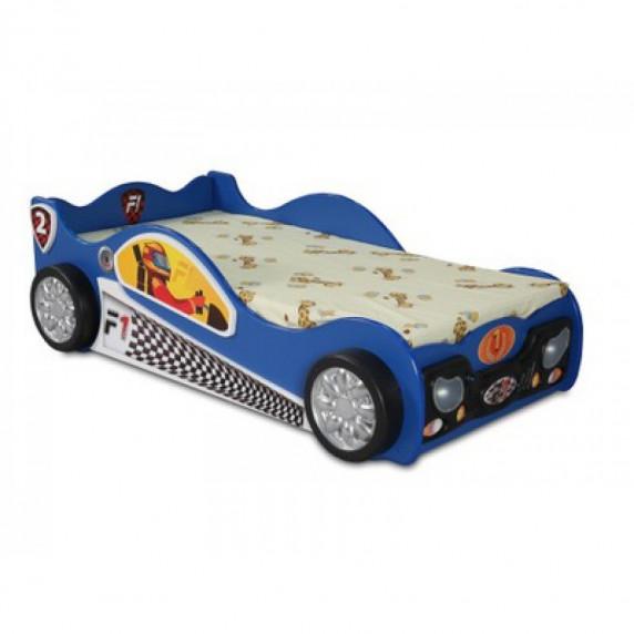 Inlea4Fun gyerekágy Monza Mini - Kék