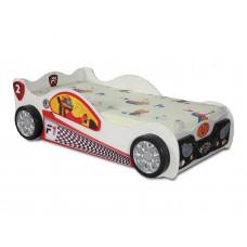 Inlea4Fun gyerekágy Monza Mini - Fehér Előnézet