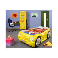 Inlea4Fun gyerekágy Sleepcar - Sárga