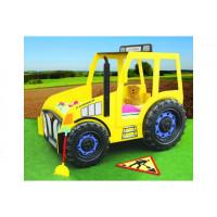 Inlea4Fun gyerekágy Traktor - Sárga
