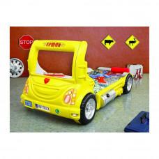 Inlea4Fun gyerekágy Kamion  - Sárga Előnézet