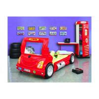Inlea4Fun gyerekágy Kamion  - Piros