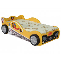 Inlea4Fun gyerekágy Monza Mini - Sárga